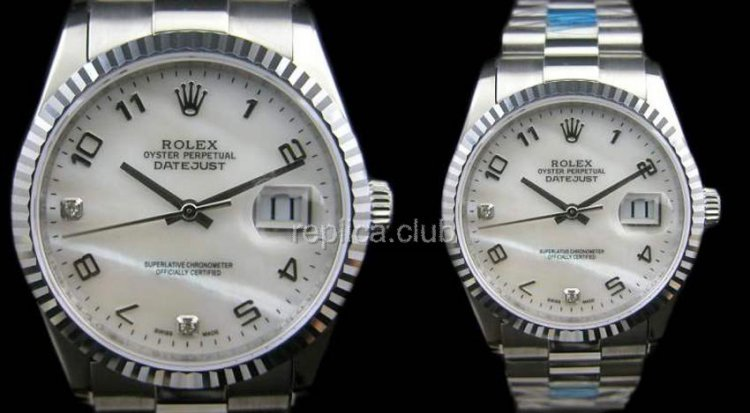 Rolex Oyster Perpetual Datejust Swiss Replica Watch #9