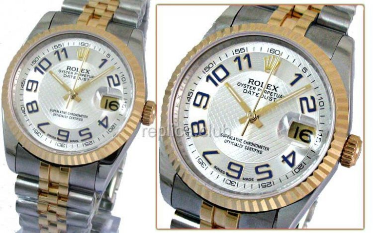 Rolex Oyster Perpetual DateJust Swiss Replica Watch #23