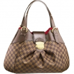 Canvas Louis Vuitton Damier Sistina Gm N41540 borsa della replica