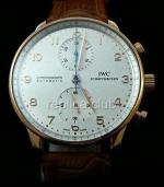 IWC Portuguses Chrono Swiss Watch реплики #5