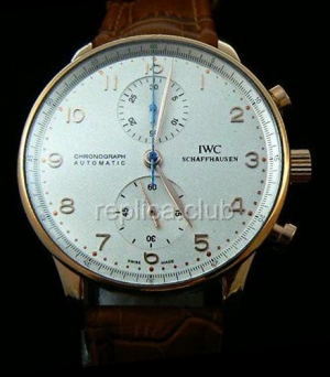 IWC Portuguses Chrono Replica Watch suisse #5