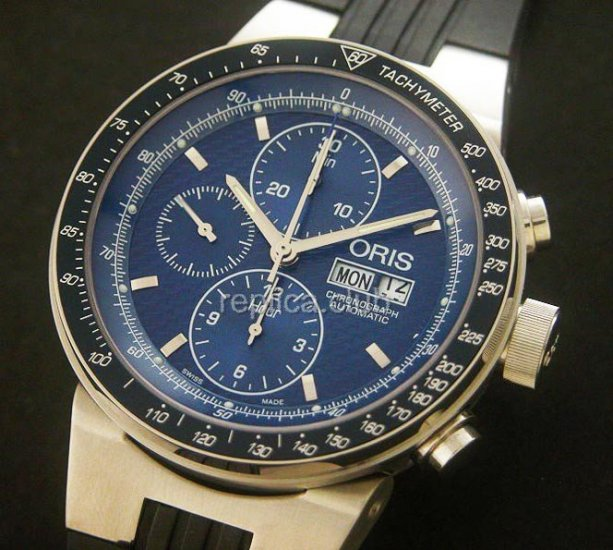 Oris Mark Webber Limited Edition Chronograph - Mens Swiss Replica Watch