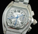 Roadster Cartier Replica Watch Calendar #5