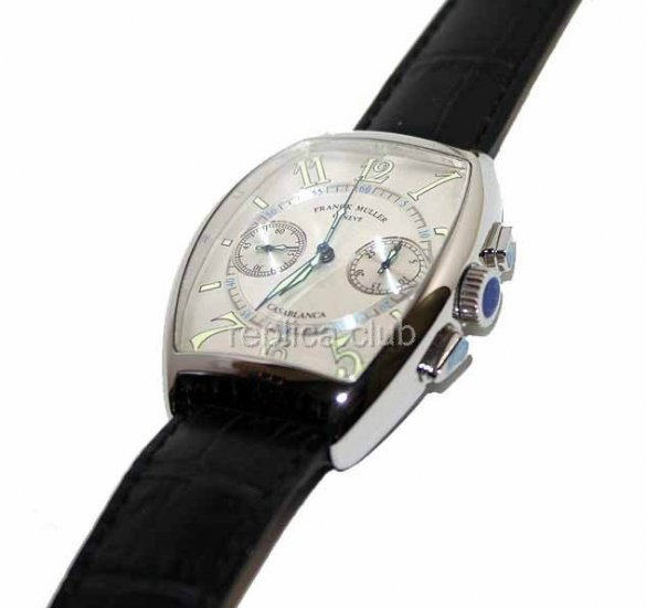Franck Muller Касабланка Cintree Curvex Cronograph Swiss Watch реплики #1