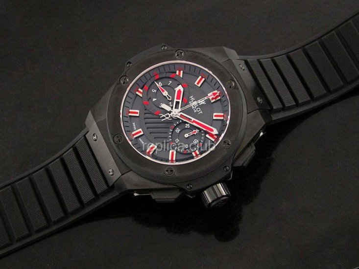 Hublot King power Limited Edition Chronograph Swiss replica #2