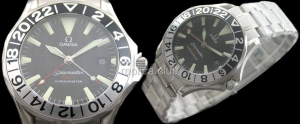 Omega Seamaster GMT Swiss Replica Watch