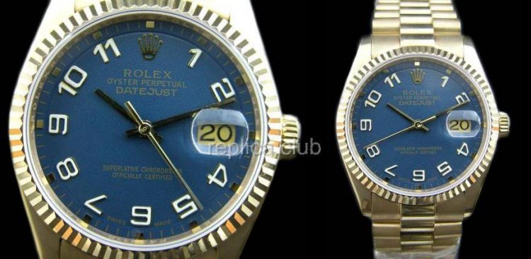 Rolex Oyster Perpetual DateJust Swiss Replica Watch #27