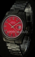 Rolex Datejust Красного Dial Swiss Watch реплики