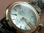Gucci 101 G Chronograph Diamonds Swiss Replica Watch