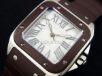 Cartier Santos 100 Mens Swiss Replica Watch #3