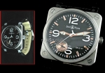 Bell and Ross Instrument BR03-97 Power Reserve Swiss Movment Replica Watch