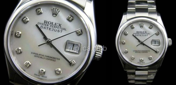 Rolex Oyster Perpetual DateJust Swiss Replica Watch #18
