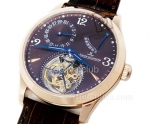 Jaeger Le Coultre Мастер Tourbillon Swiss Watch реплики #3