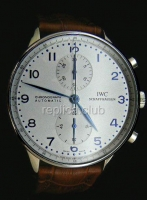 IWC Portuguses Chrono Swiss Watch реплики #2