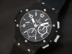 Hublot Big Bang Chronograph PVD Black Swiss Movment Swiss Replica Watch