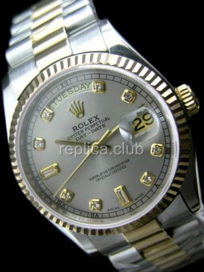Rolex Oyster Perpetual Day-Date Swiss Replica Watch #12