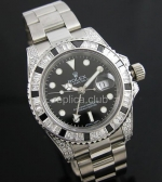 Suiza Rolex GMT Master II Diamante Replica