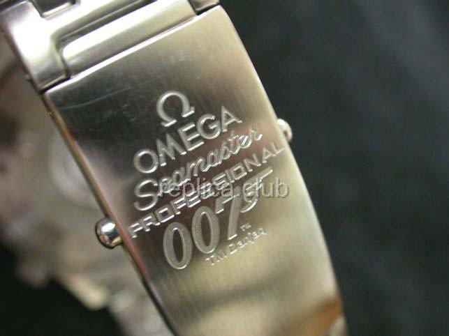 Omega Seamaster James Bond 007 Swiss Replica Watch