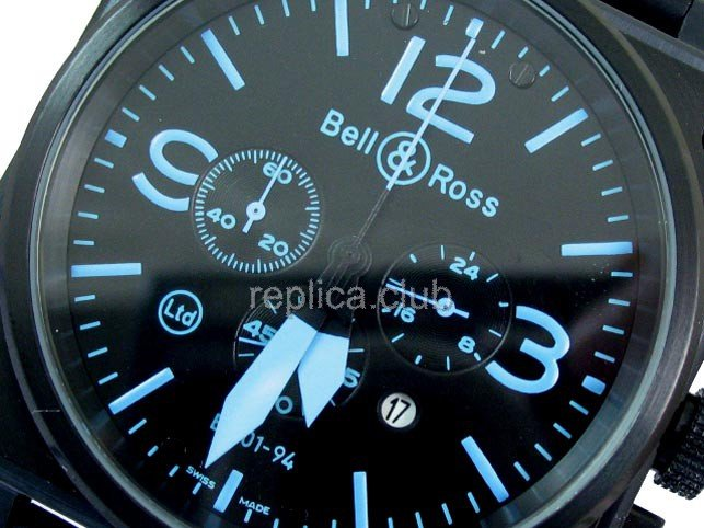 Bell and Ross Instrument BR01-94 Cronograph Swiss Movment Replica Watch #2