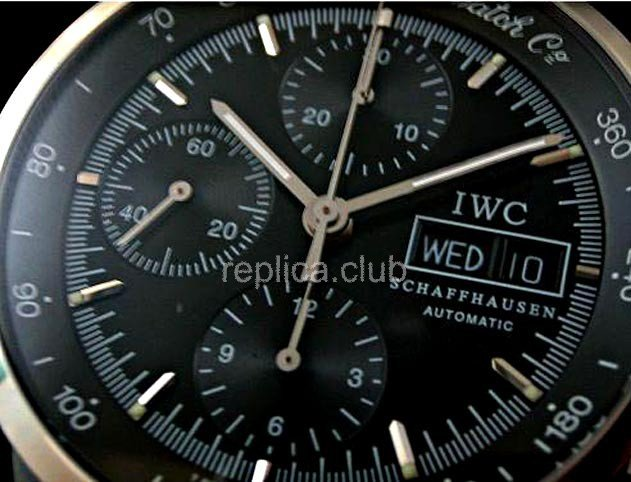 IWC GST Chrono-Split Second Ratrapante Swiss Replica Watch #1