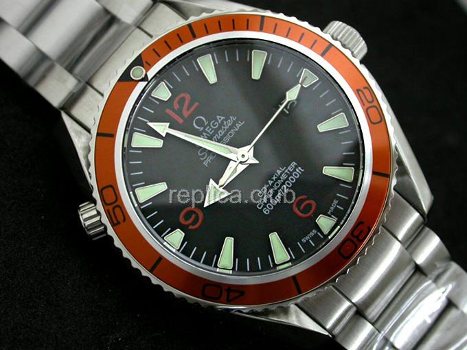 Omega Seamaster Planet Ocean Co-Axial Swiss Replica Watch #1