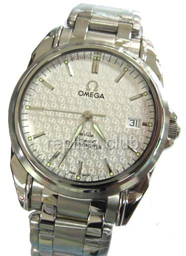 Omega DeVille Co-Axial Swiss Replica Watch #3