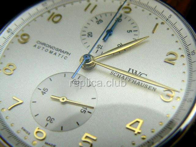 IWC Chrono Portuguses Swiss Replica Watch #3