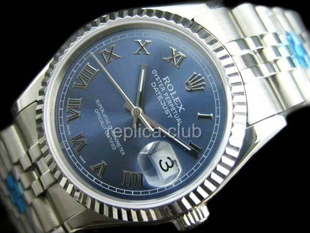 Rolex Oyster Perpetual Datejust Swiss Replica Watch #5