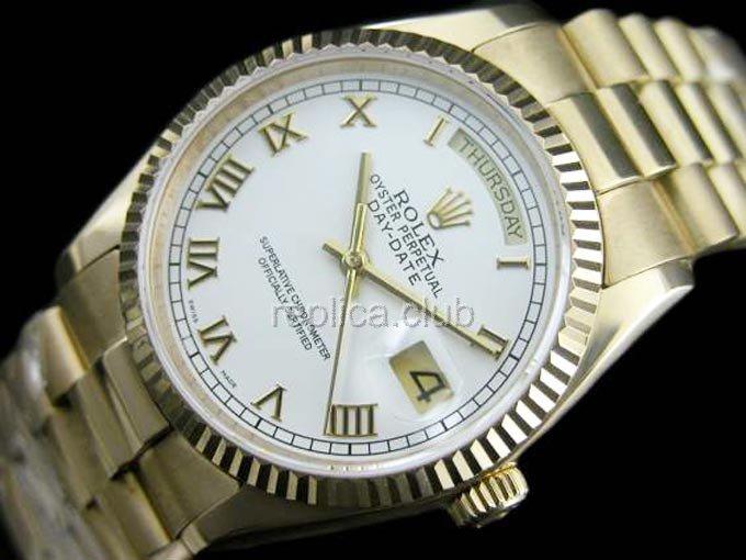 Rolex Oyster Perpetual Day Date Swiss Replica Watch 17