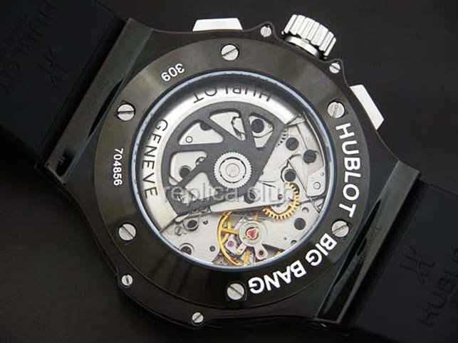 Hublot Big Bang Chronograph Black PVD Swiss movment Swiss Replica Watch