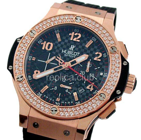 Hublot Big Bang Automatic Diamonds Swiss Replica Watch