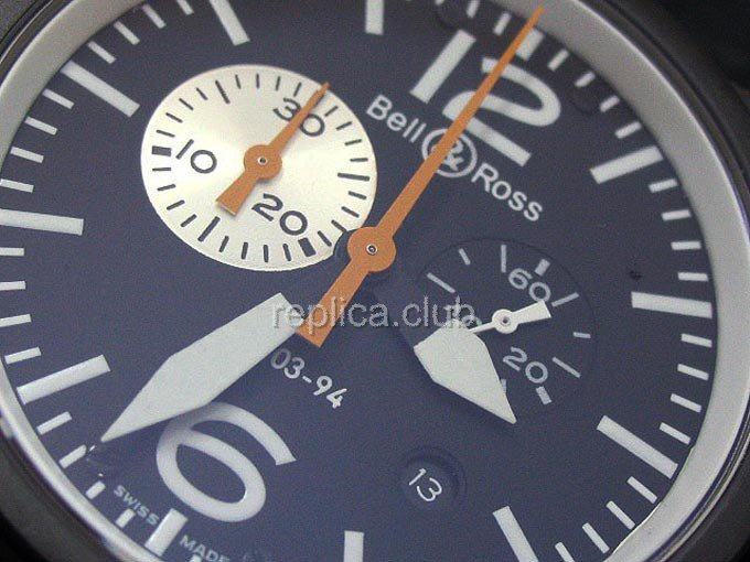 Bell et Ross Instrument BR03-94 chronographe Replica Watch suisse