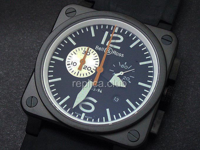 Bell e Ross Instrumento Chronograph BR03-94 Swiss Replica Watch