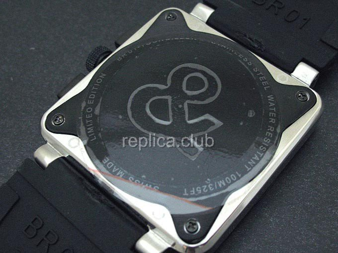 Белл и Росс инструмента BR01-94 Chronograph Swiss Watch реплики #1