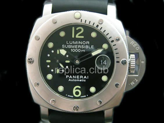 Officine Panerai 1000M Submersible Swiss Replica Watch