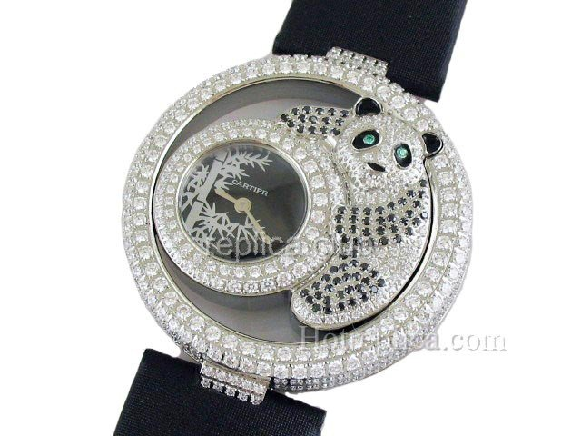 Cartier Pasha De Diamond Damenuhr Swiss Replica Watch