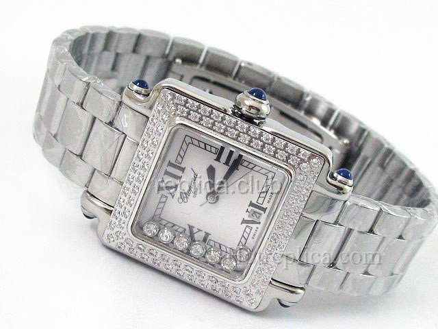 Mesdames Chopard Happy Sport Montre Swiss Replica #2