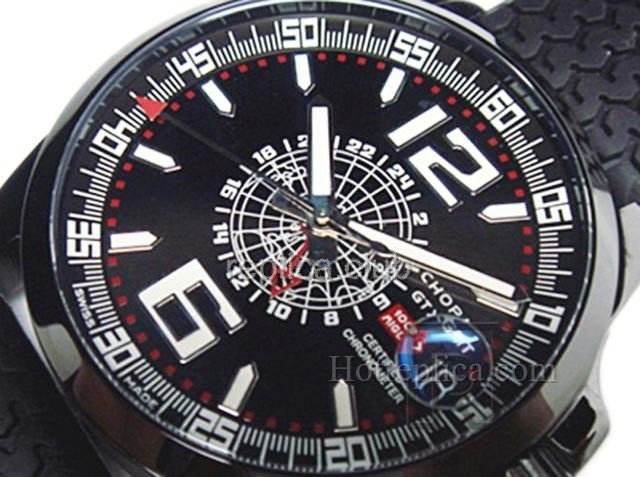 Chopard Mile Milgia Gran Turismo XL GMT Swiss Replica Watch #4