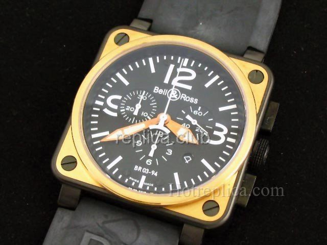 Bell and Ross Instrument BR 03-94 Swiss Replica Watch #2