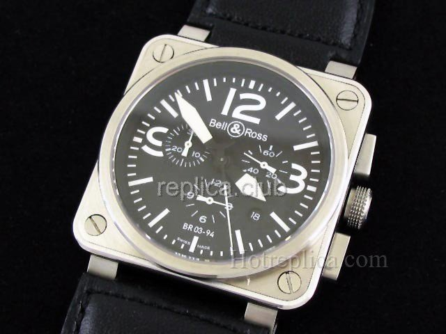 Белл и Росс BR инструмента 03-94 Swiss Watch реплики #1