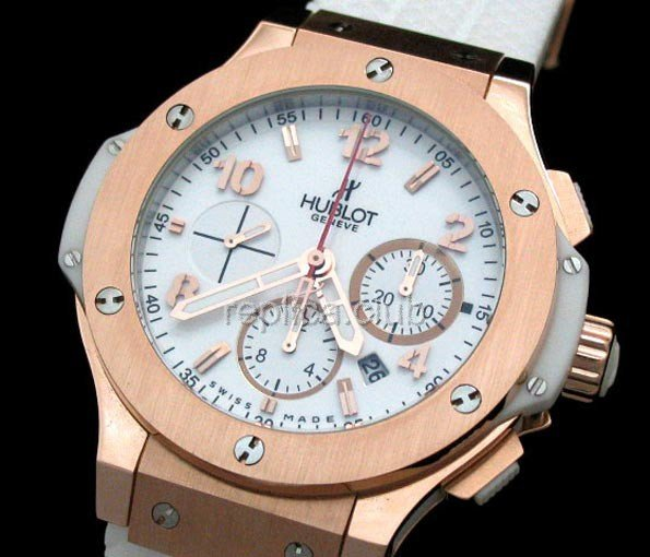 Chronographe Hublot Big Bang réplique suisse #2