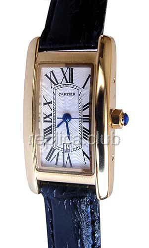 Cartier Tank Americaine Moyen Replica Watch #1