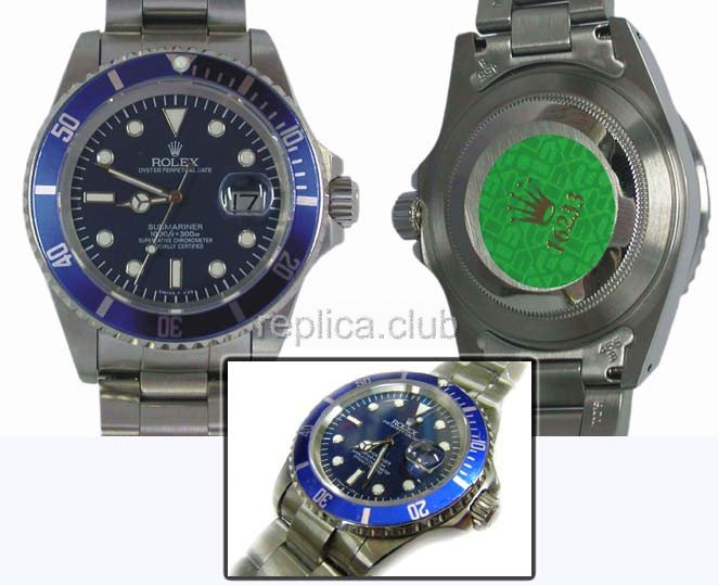 Rolex Oyster Perpetual Date Submariner Swiss Replica Watch #1