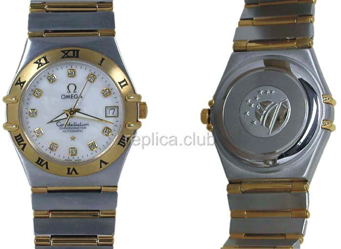 Omega Constellation Swiss Replica Watch #2