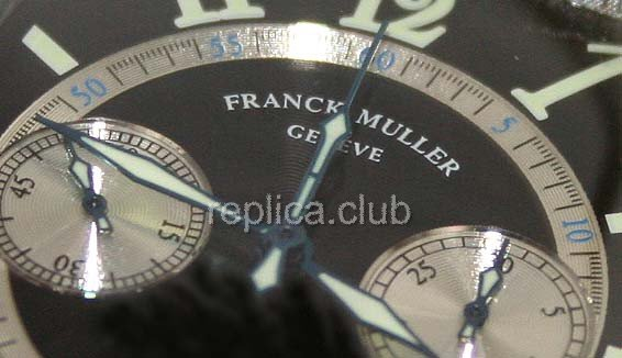 Franck Muller Casablanca Cintree Curvex Chronograph Swiss Replica Watch #2